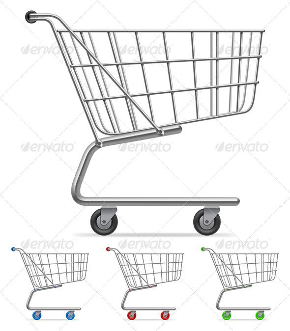 Shopping Cart - Commercial / Shopping Conceptual