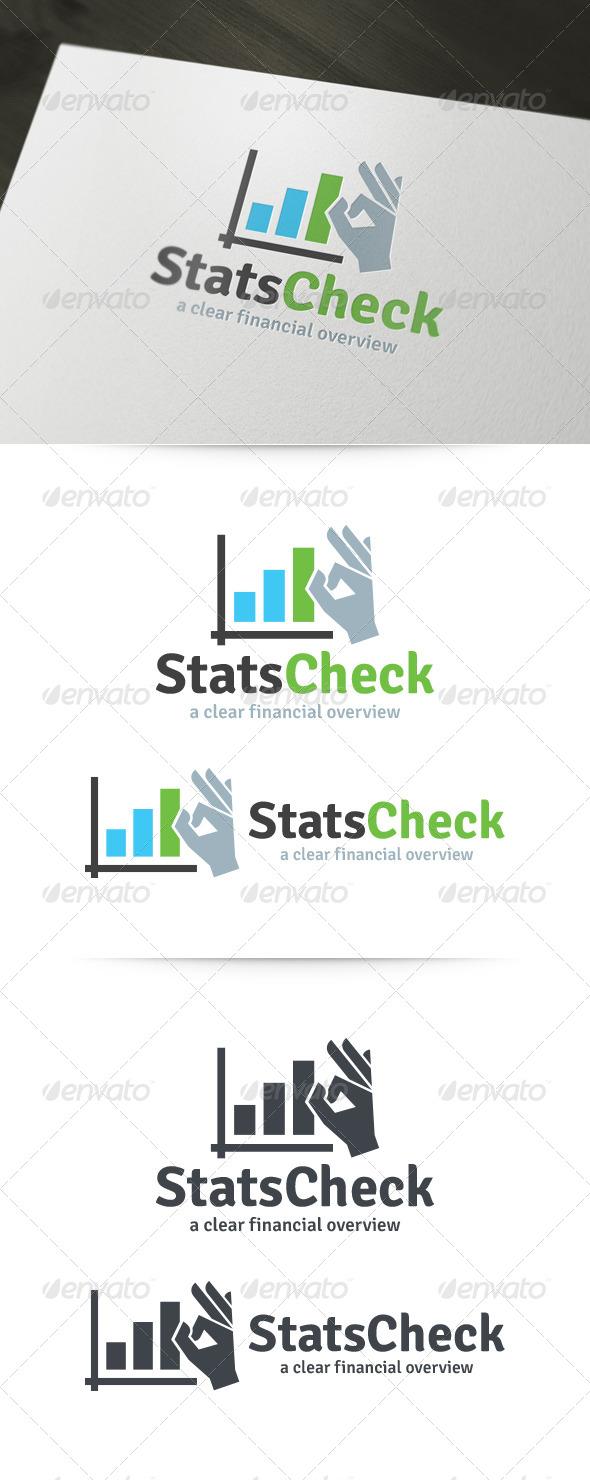 Stats Check Logo - Symbols Logo Templates