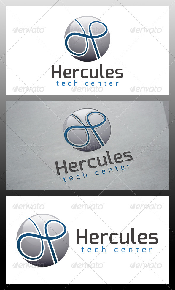 Hercules Logo Template - Letters Logo Templates