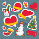 Set of Christmas and New Year Elements - GraphicRiver Item for Sale