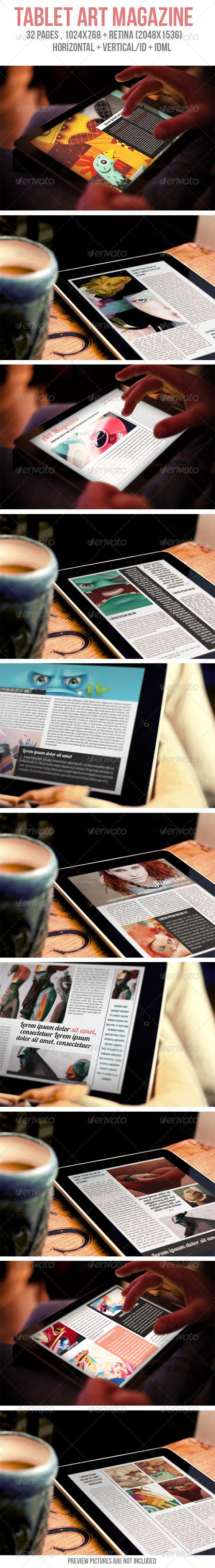 iPad & Tablet Art Magazine - Digital Magazines ePublishing