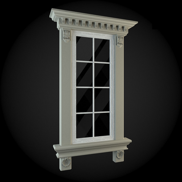 Window 014 - 3DOcean Item for Sale