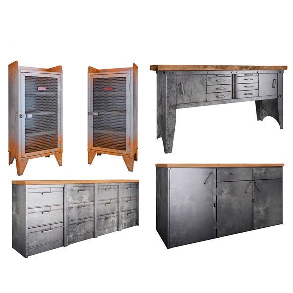 Metal Furniture - 3DOcean Item for Sale