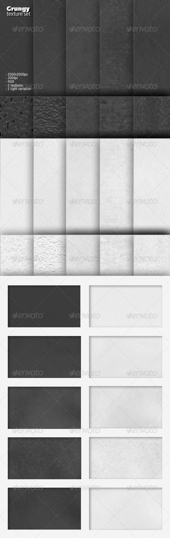Texture Set - Abstract Backgrounds