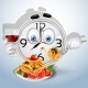 Watch Smile Dinner of Spaghetti - GraphicRiver Item for Sale