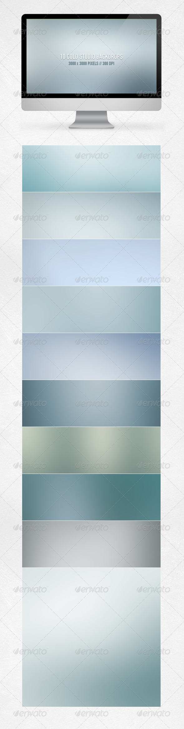 Cold Studio Backdrops - Backgrounds Graphics