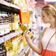 Young Woman Buying Olive Oil - VideoHive Item for Sale