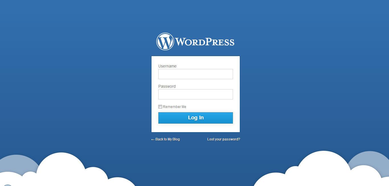 Wp Login: Blue Press - WordPress Admin Theme By RadoTheme