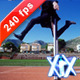 Businessman Jumping Over Hurdle - VideoHive Item for Sale