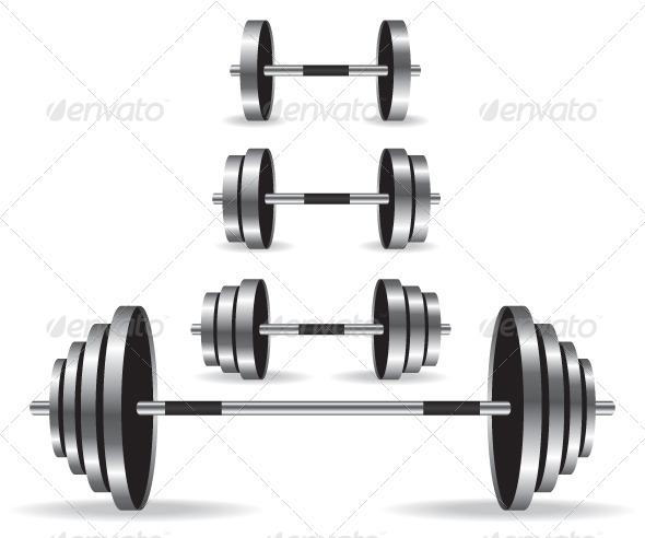 Weights Collection Illustration - Objects Vectors