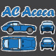 AC Aceca Car Blueprint - GraphicRiver Item for Sale