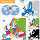 Europe Map - GraphicRiver Item for Sale