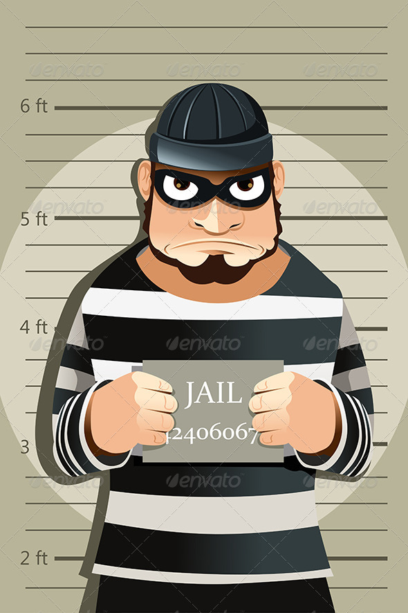 Criminal Mug Shot - People Characters