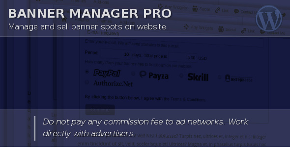 huge discount 5b760 a47f2 Banner Manager for WordPress by halfdata   CodeCanyon