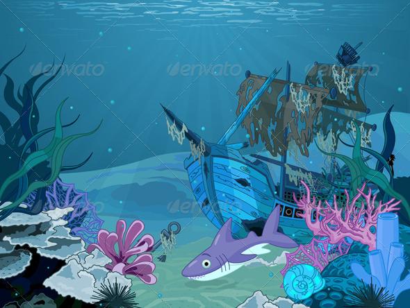 Underwater Landscape - Landscapes Nature