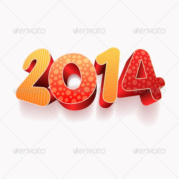 3D 2014 - New Year Seasons/Holidays