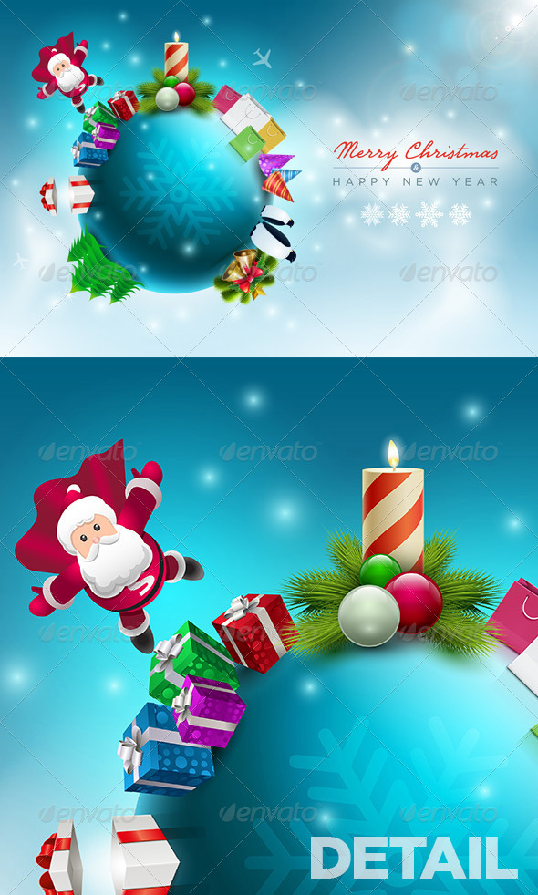 Santa Claus Christmas World - Christmas Seasons/Holidays