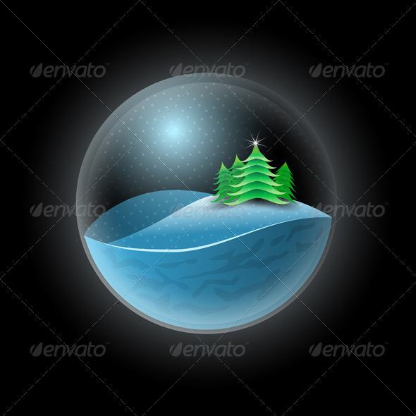 Christmas Sphere - Christmas Seasons/Holidays