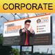 Corporate Billboard Banner - GraphicRiver Item for Sale