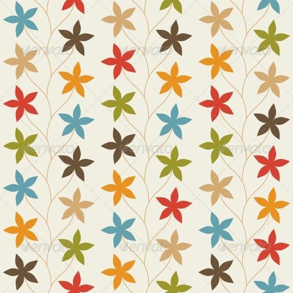 Floral Vintage Seamless Pattern - Patterns Decorative