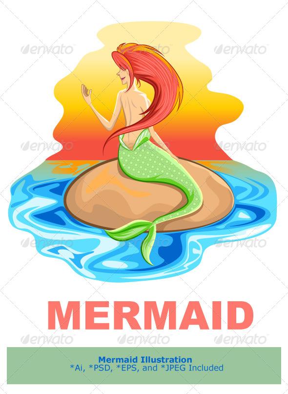 Mermaid Siren Mythological Creature - People Characters