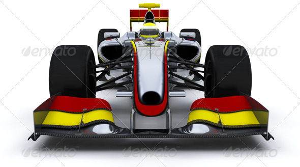 F1 Car - 3D Backgrounds
