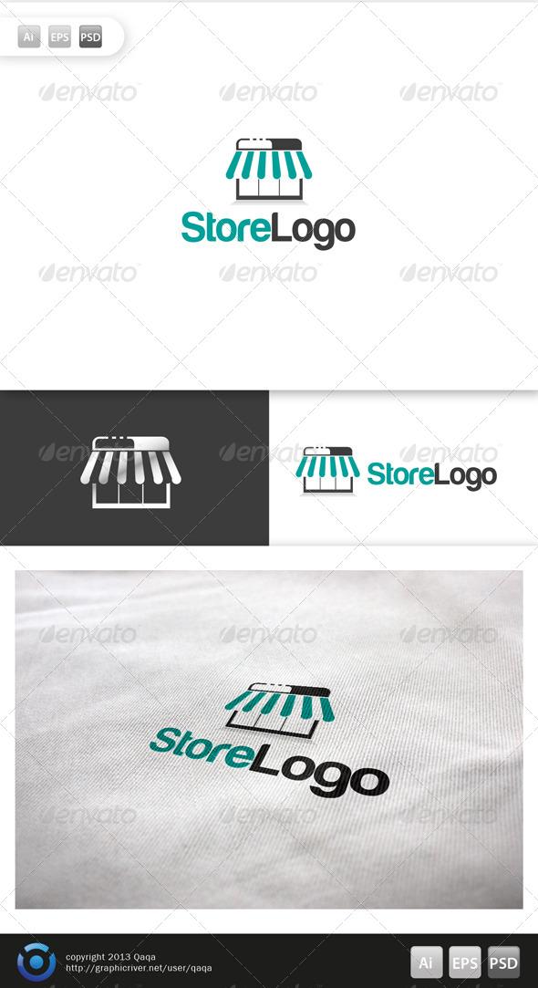 Store Logo - Buildings Logo Templates