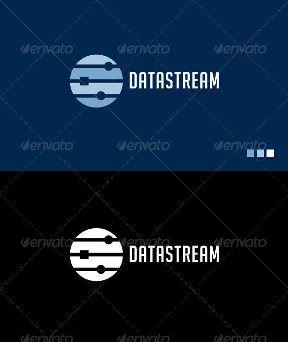 Datastream - Logo Template - Symbols Logo Templates