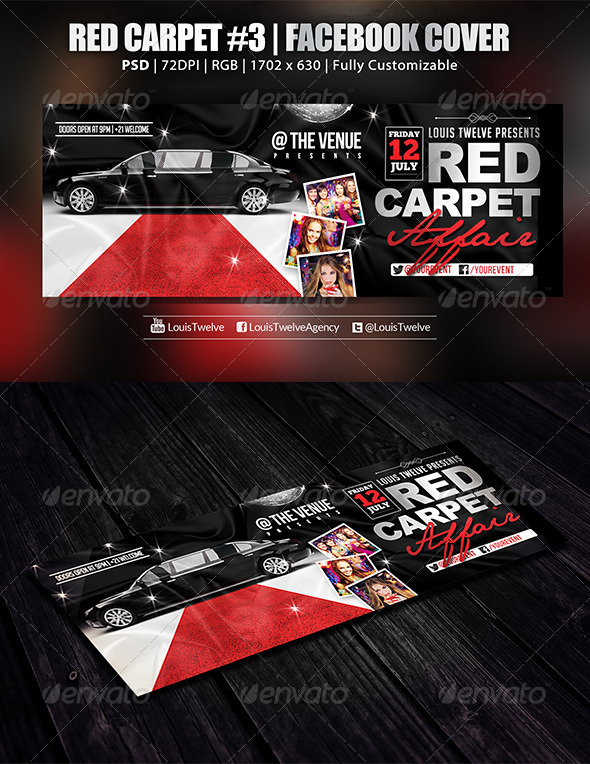 Red Carpet #3 | Facebook Cover