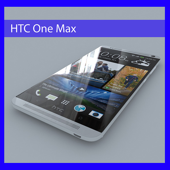 HTC One Max - 3DOcean Item for Sale