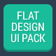 Flat Design UI Pack - GraphicRiver Item for Sale