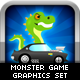 Monster Game Graphic Set - GraphicRiver Item for Sale