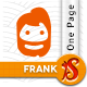 Frank - Responsive One Page HTML Nulled