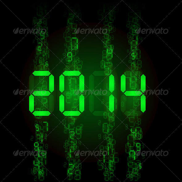 Digital 2014 Numerals - Media Technology