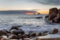 Dusk at Porth Nanven Cove - PhotoDune Item for Sale