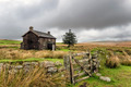 Abandoned Farmhouse On A Stormy Day in Dartmoor - PhotoDune Item for Sale