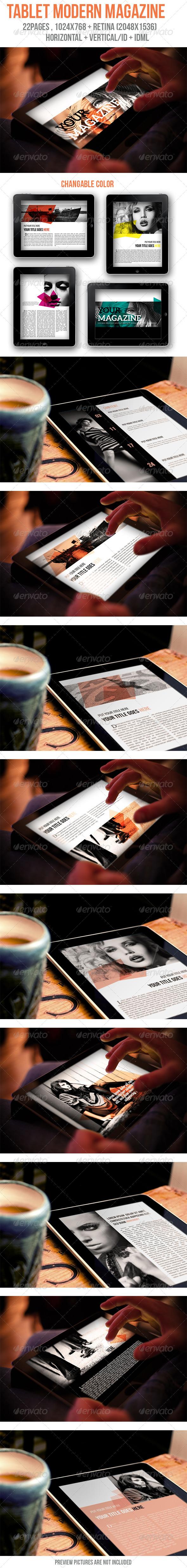 iPad & Tablet Modern Magazine - Digital Magazines ePublishing