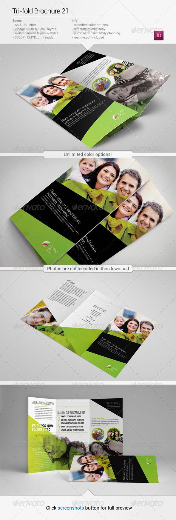 Tri-Fold Brochure 21 - Informational Brochures