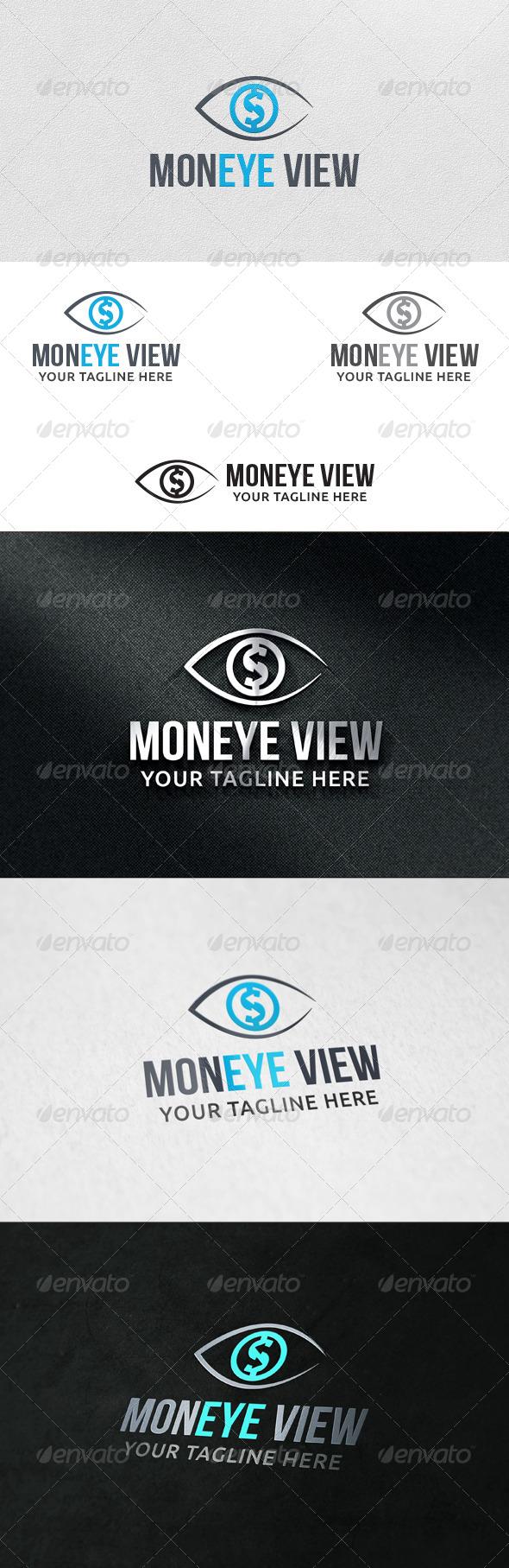 Money View - Logo Template - Symbols Logo Templates