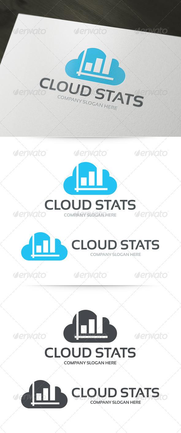 Cloud Stats Logo - Symbols Logo Templates