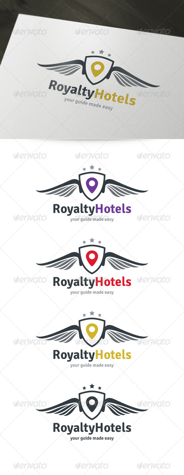 Royal Hotels Logo - Crests Logo Templates