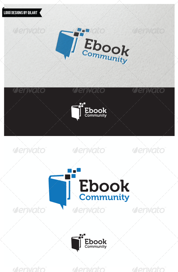 Ebook Community - Abstract Logo Templates