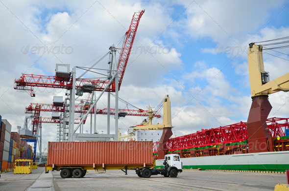 Shipping and cargo - Stock Photo - Images