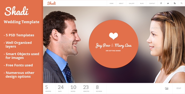 Shadi – Event & Wedding Template