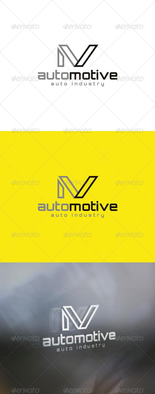 Auto Motive Logo - Letters Logo Templates