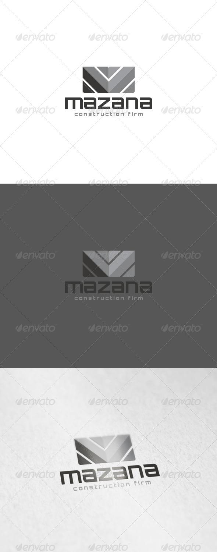 Mazana Logo - Letters Logo Templates