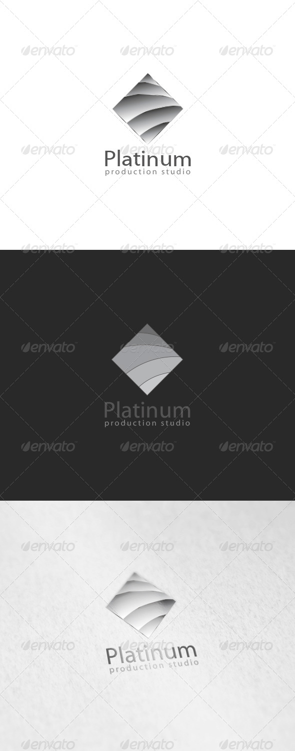 Platinum Logo - 3d Abstract