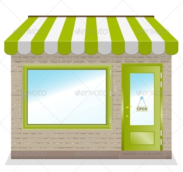 Shop Vector - Retail Commercial / Shopping