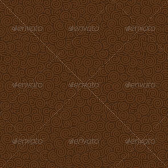 Swirls Seamless Pattern Background - Patterns Decorative