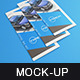 Tri-fold Flyer A4 Mock-Up - GraphicRiver Item for Sale